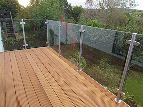 Glass balustrades system